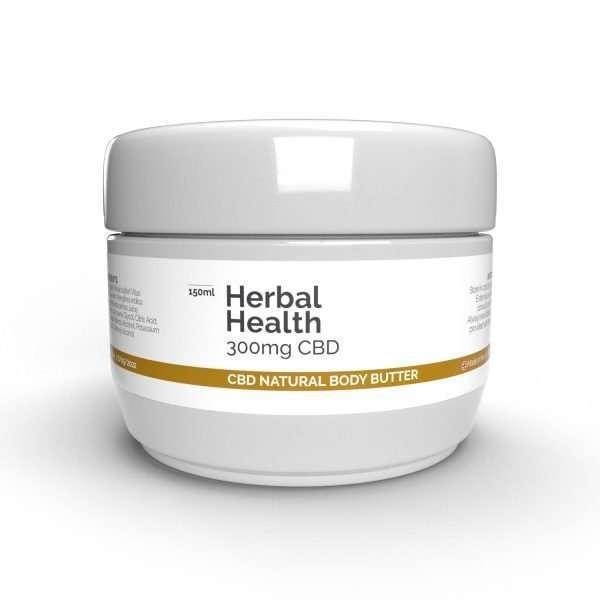 CBD Natural Body Butter 300mg